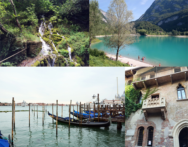 Reiseführer Travel Guide Gardasee Parco Grotta Cascata Varone Tennosee Venedig Verona Ausflüge