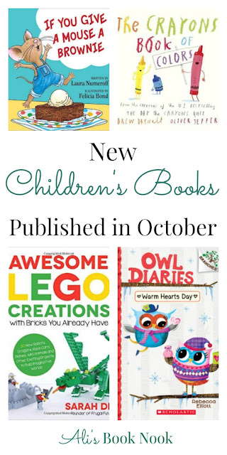 New Children's Books Being Published in October