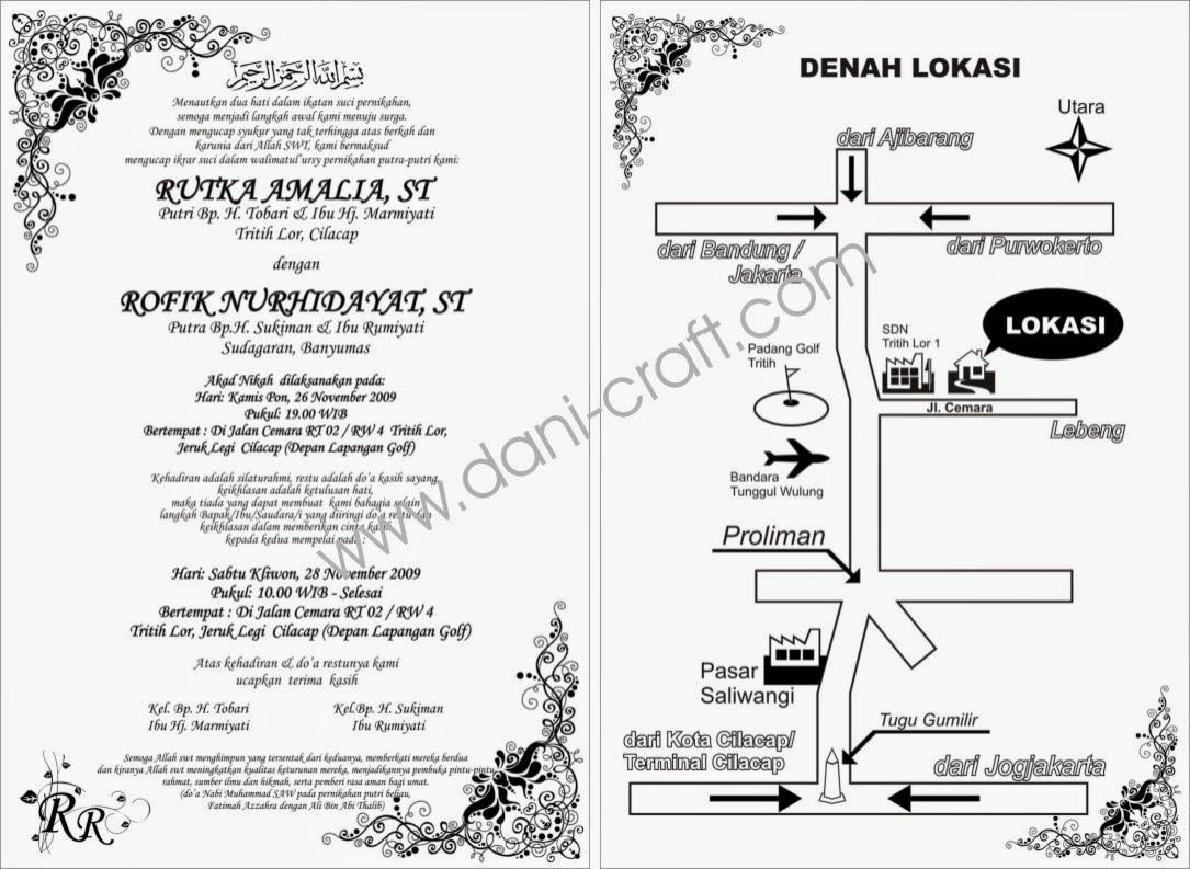 Contoh Undangan Pernikahan Dengan Bahasa Jawa Wedding Mu Tips