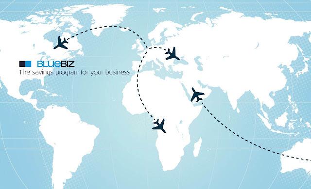 KLM promueve el ahorro empresarial mediante su programa Bluebiz