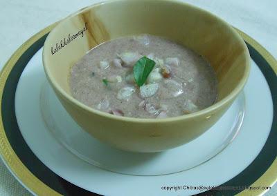 Kaezhvaragu koozh [ Ragi Porridge ]