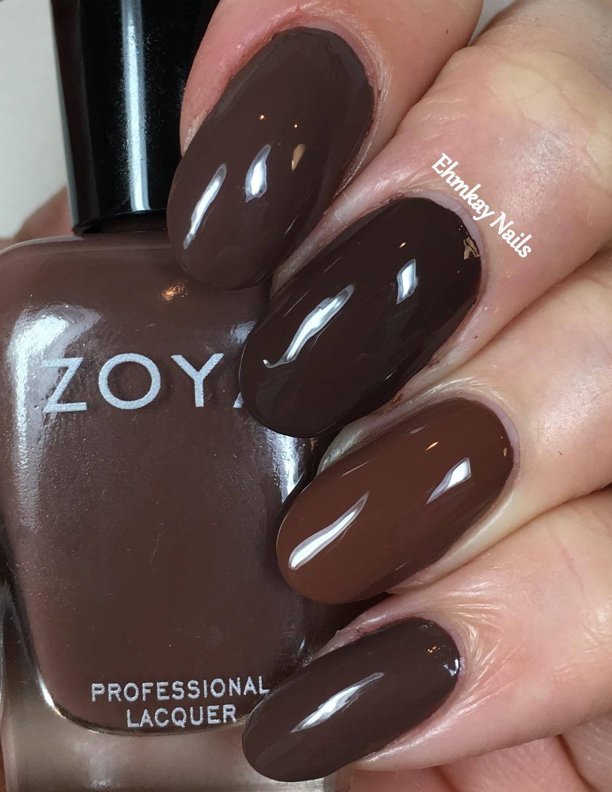 Ehmkay nails zoya naturel 3 comparisons zoya desiree vs zoya nyssa reheart Images