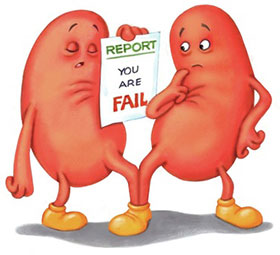 Kidney failure, Renal failure, Reduce Creatinine Level