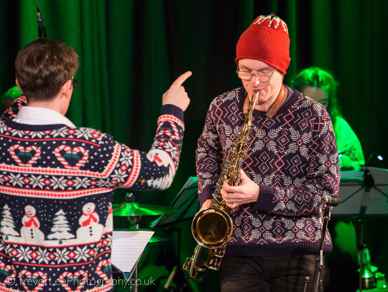 LondonJazz: REVIEW: James Brady Big Band - Swing Into Christmas at ...