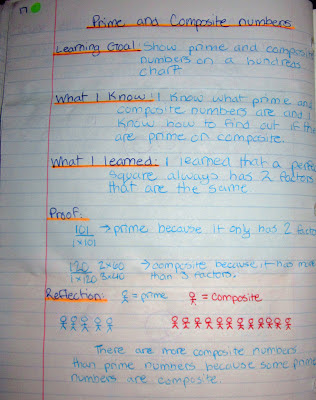 prime composite numbers interactive math journal