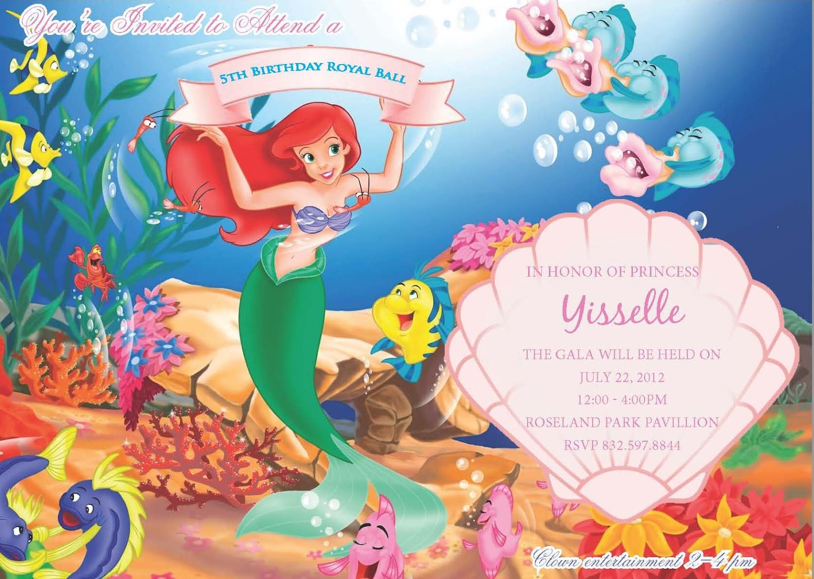 Little mermaid templates image collections templates design ideas little mermaid template gallery templates design ideas little mermaid invitation template page 4 fallcreekonline little mermaid monicamarmolfo Images