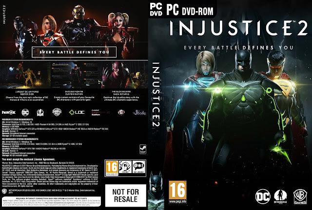 Capa Injustice 2 PC
