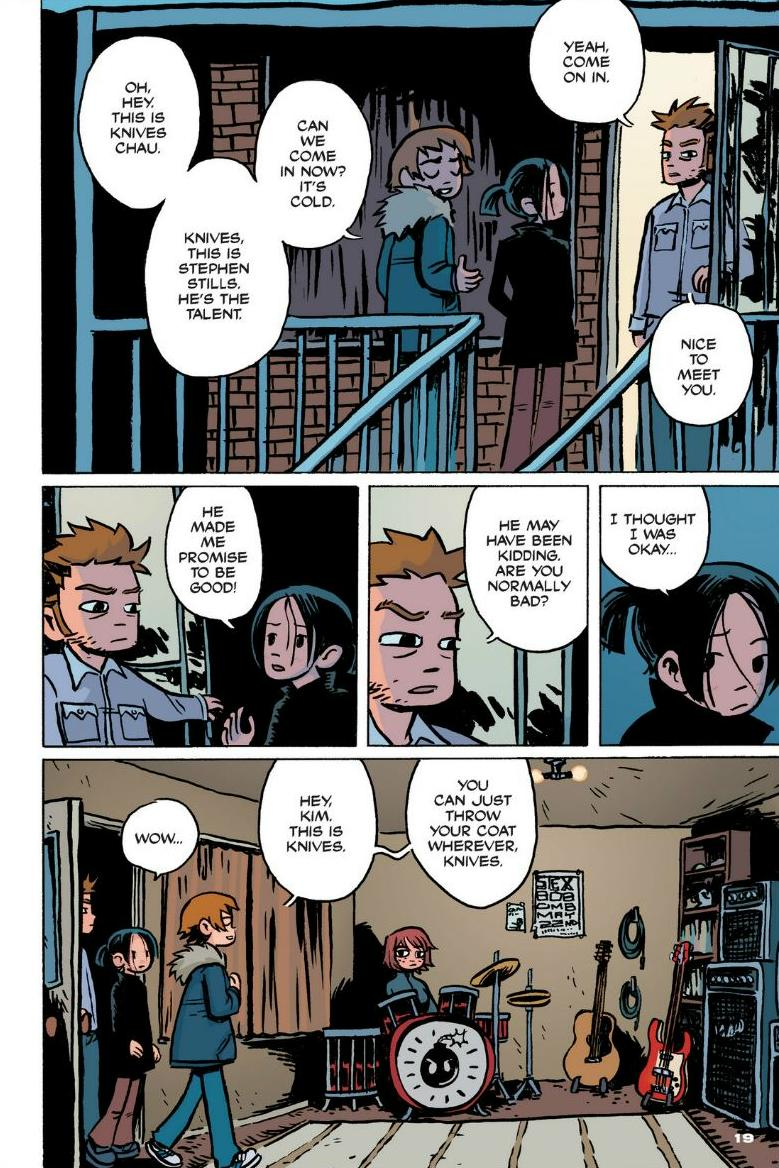 Read online Scott Pilgrim comic -  Issue #1 - 14