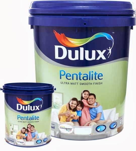 Dulux Pentalite Cat Interior Berkualitas dari ICI Paints