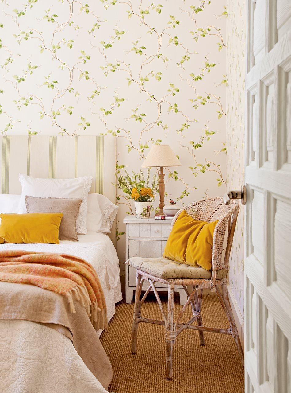 Dep sito santa mariah quartos arrumados - Combinar pintura y papel pintado ...
