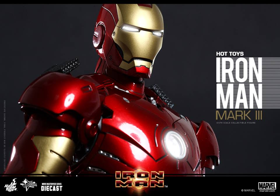 Iron Man Mark3(Diecast)