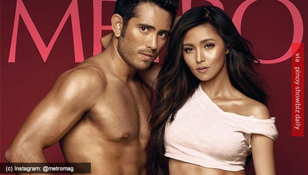 Kim Chiu and Gerald Anderson grace cover of Metro Magazine April 2017