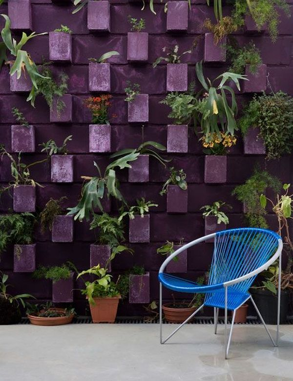Concrete blocks for exterior decorating | lasthomedecor.com 6