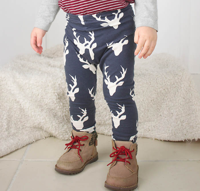 Baby Leggings DIY