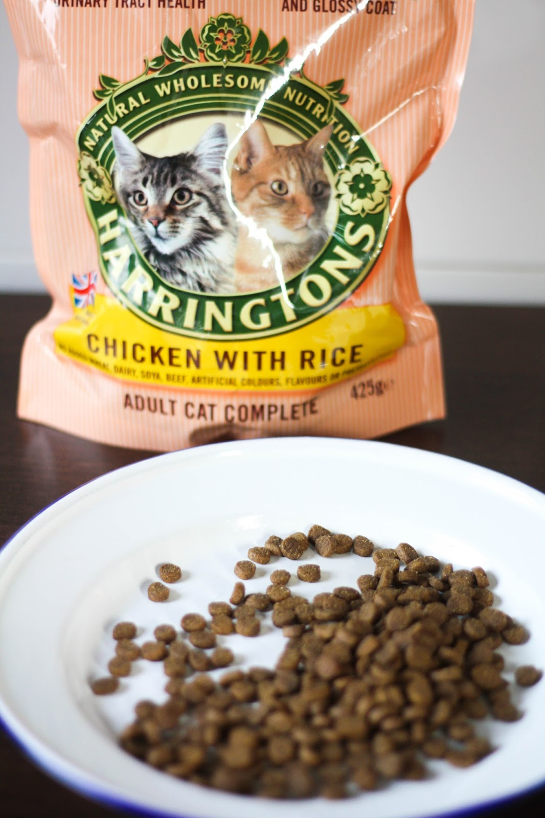 Feline Foodology: Chicken with rice by Harringtons