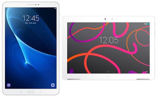 Samsung Galaxy Tab A6 10.1 vs bq Aquaris M10 FHD