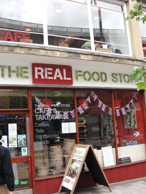 natural foods grocery store in england