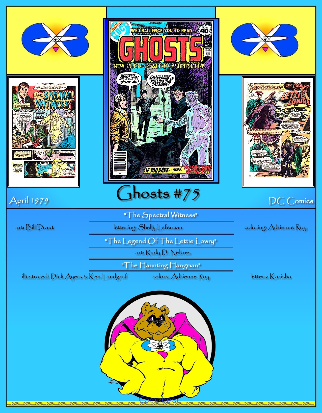 Read online Ghosts comic -  Issue #75 - 36