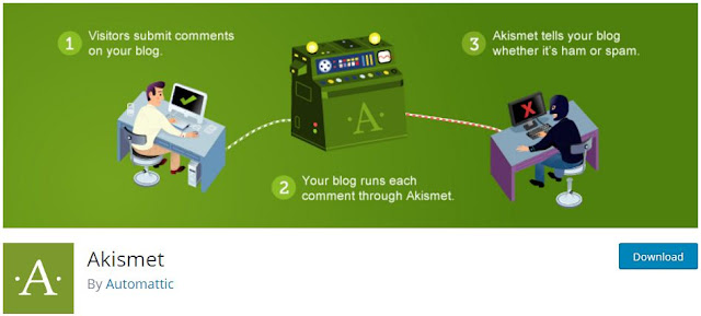 Akismet WordPress Anti Spam Plugin