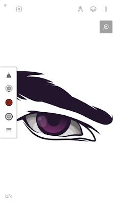 Bayangan pada putih mata