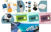 Logo SanPellegrino ''Io mi Meraviglio'': vinci buoni spesa, ricchi buoni viaggio, Action Cam e non solo!