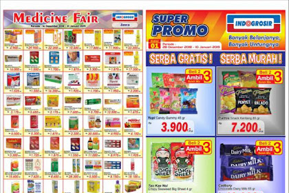 Katalog Indogrosir Terbaru Super Promo 28 Desember 2018 - 10 Januari 2019