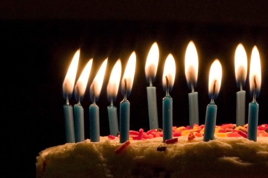 sonhar com vela de aniversário