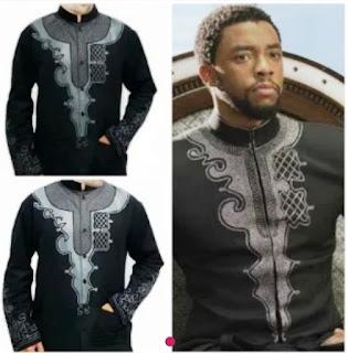 Baju koko kekinian yang terinspirasi dari kostum Black Panther