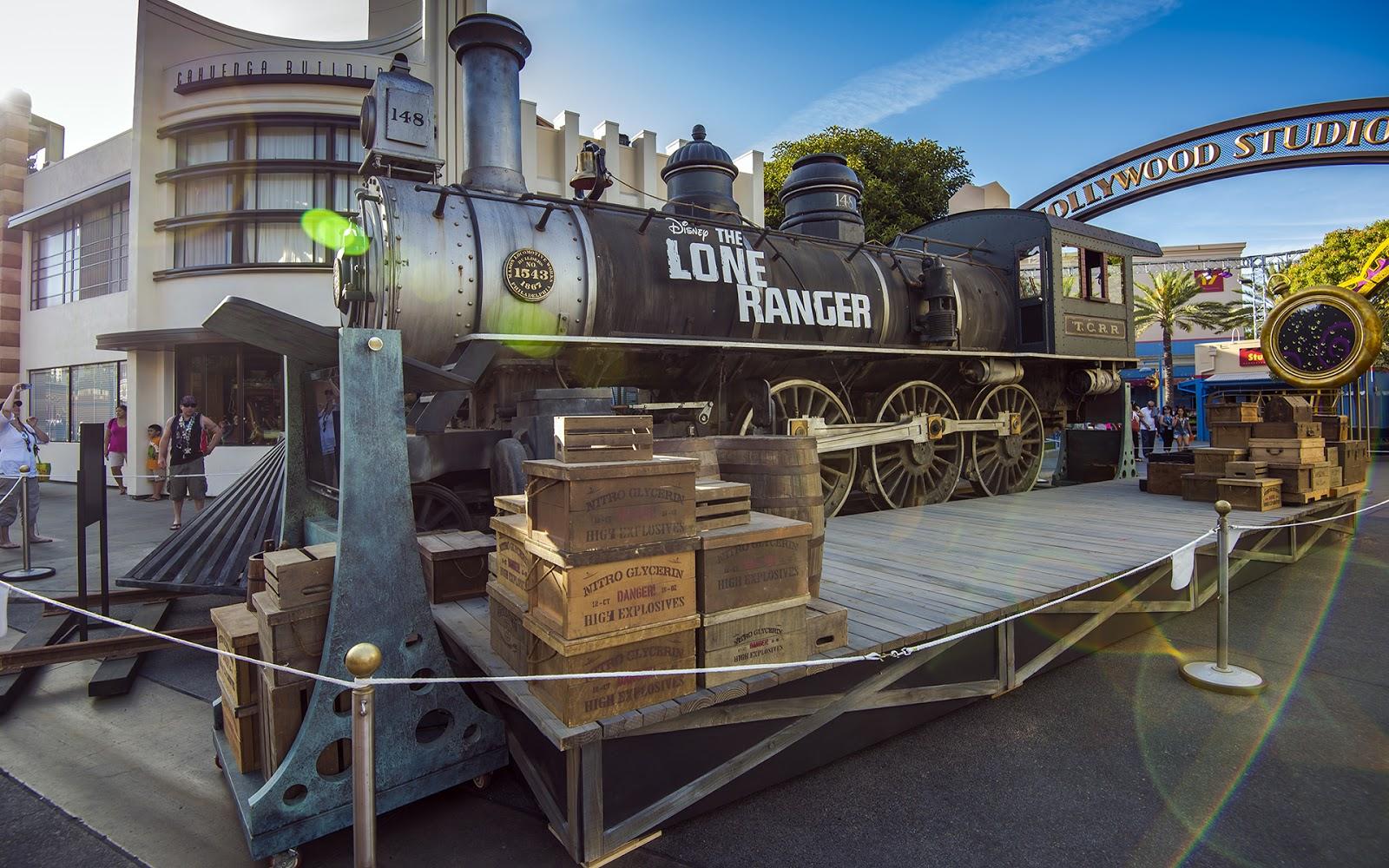 The Lone Ranger Train