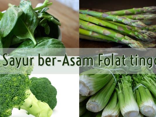 Daftar Sayuran yang Merupakan Makanan Mengandung Asam Folat Tinggi