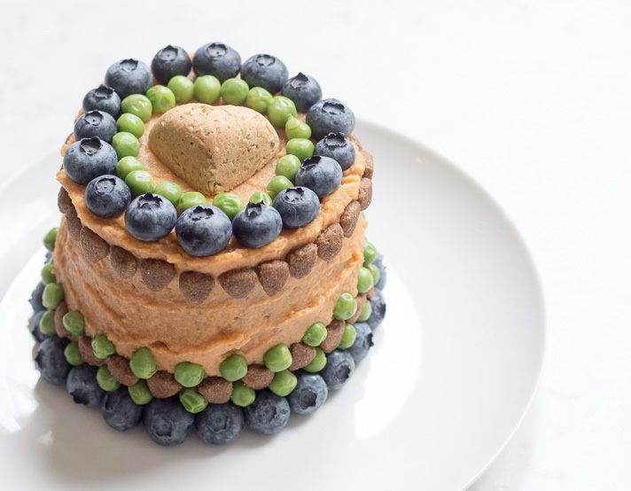 Dog Birthday Cake Recipe Meatloaf Veggies 17 Apart
