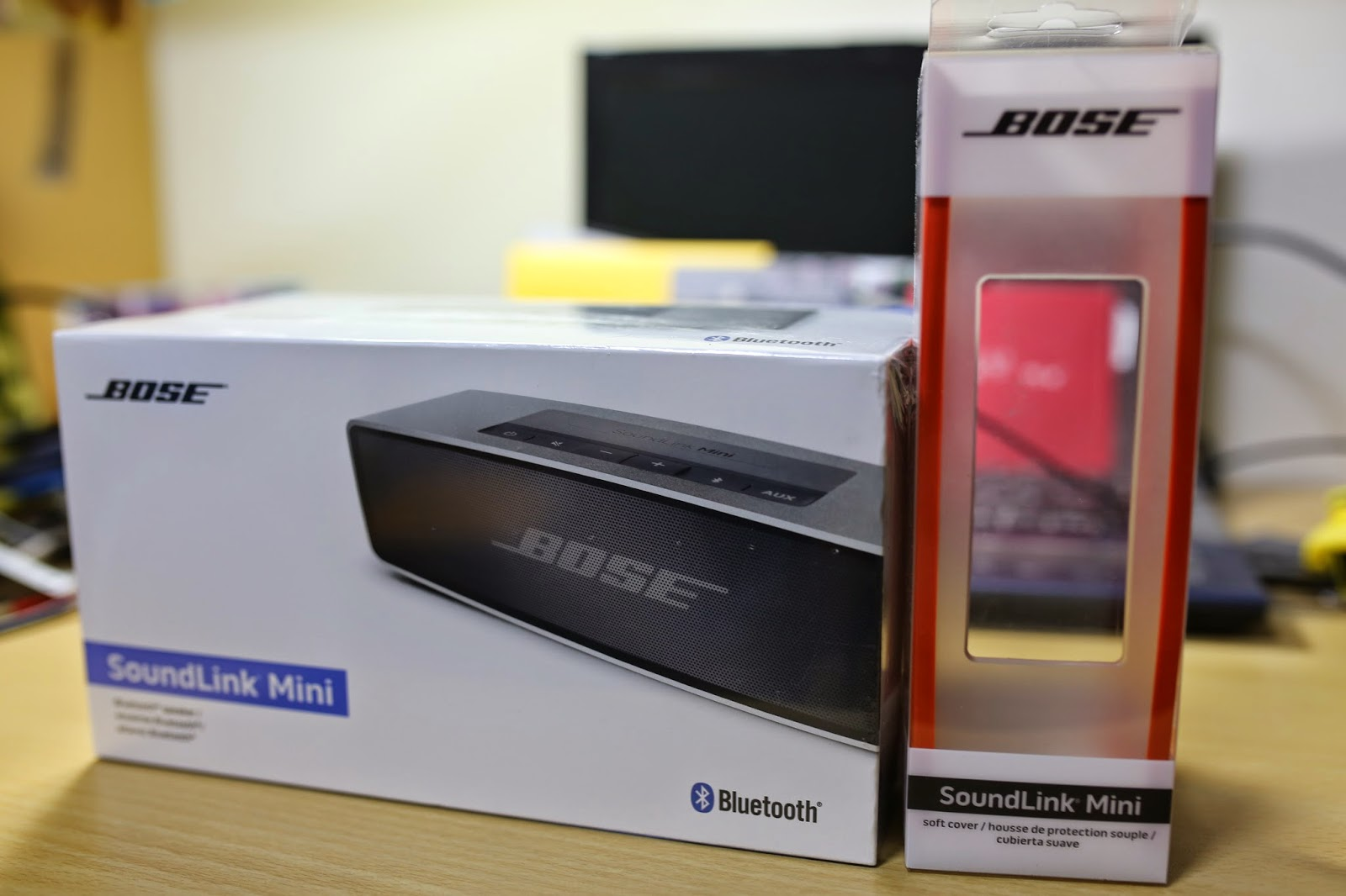 リラックマと小銘のBlog: [開箱] 結合頂尖音質與便利攜帶性-Bose SoundLink mini bluetooth speaker