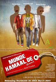 Munde Kamaal De 2015 Punjabi HD WebRip 400MB, Punjabi Movie DvdRip compressed to small size of 300MB 720P DvdRip 480P Dvdrip of Movie munday kamal day 2015