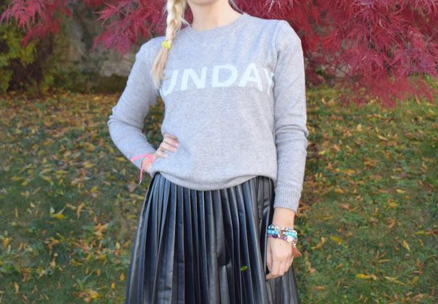outfit dicembre 2017 outfit maglione con giorno della settimana maglione zaful mariafelicia magno fashion blogger colorblock by felym ragazze bionde