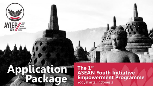 "Call for Joint ""The 1st ASEAN Youth Empowerment Program in 2016 (AYIEP)"""