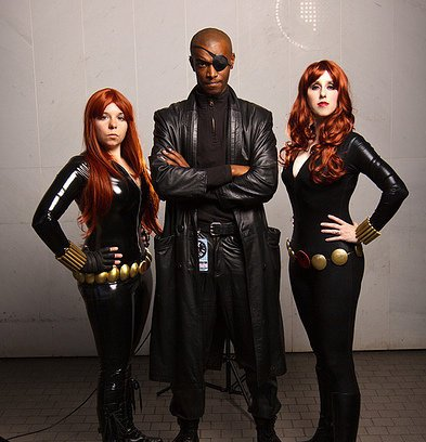 nick fury cosplay avengers