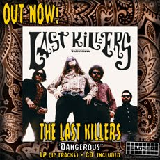 "The LAST KILLERS : ""Dangerous"" LP/CD"