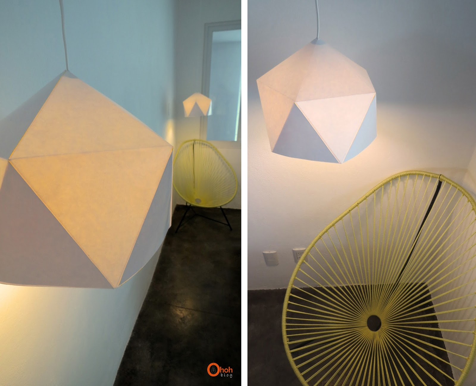 Interieur Blog Diy Diy Geo Lampshade Ohoh Deco