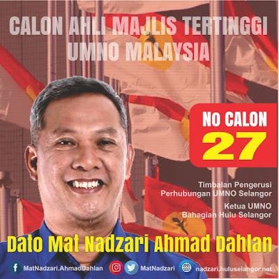 Calon Ahli Majlis Tertinggi UMNO Malaysia
