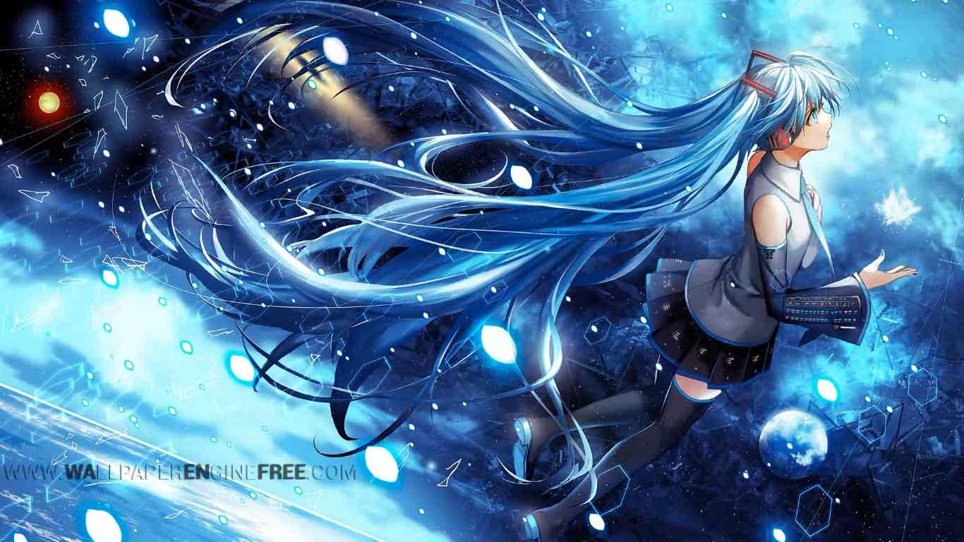 Hatsune Miku Live Wallpaper Engine Free Download Wallpaper