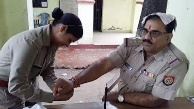 Vishnu Kant Celebrates Rakhi Female Police Constables