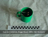 Prisoner-made cup and immerser, Boggo Road Gaol (BRGHS)