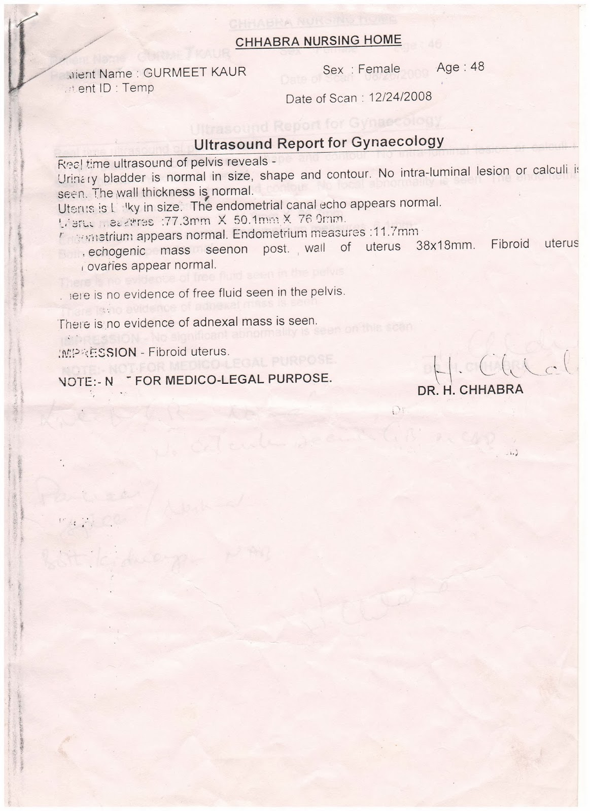 ayurvedic treatment: SUCCESS STORY OF CURE FIBROID UTERUS