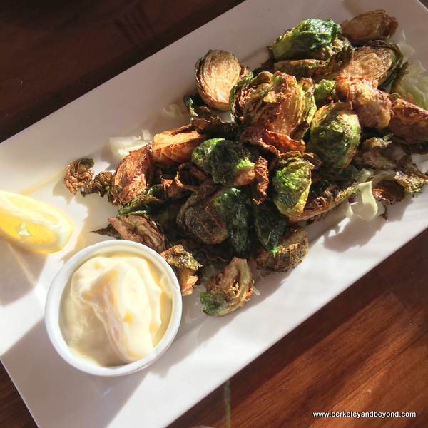 Brussels sprouts at Sailor Jack's in Benicia, California