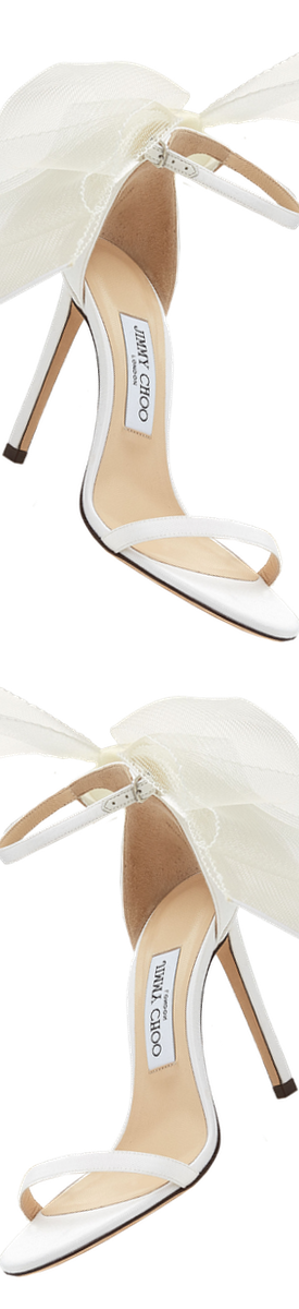 JIMMY CHOO AVELINE 100 SANDAL IN LATTE
