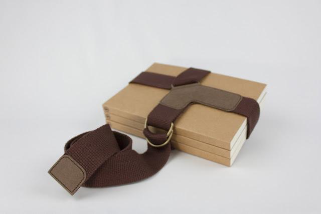 紙樣手創設計 可水洗牛皮紙綁書帶 SIDONIEYANG | HANDMADE Book Strap