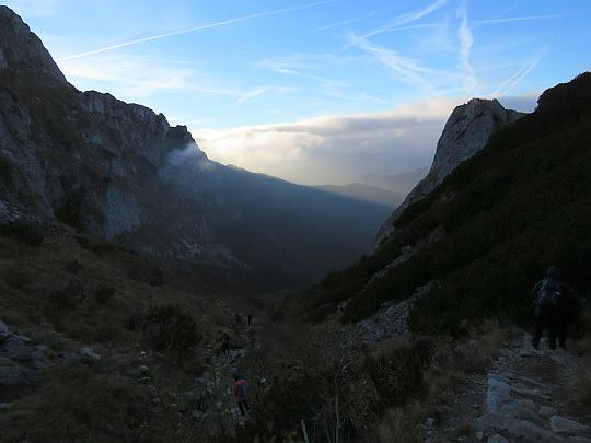 Zejście do Doliny Małej Łąki.