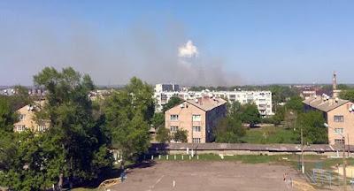 На арсенале в Балаклее снова возник пожар