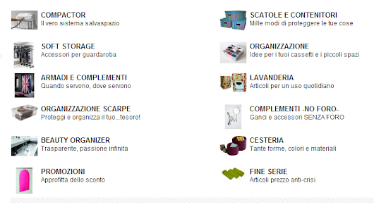 Ordinare & Co...Un mondo di Organizers!