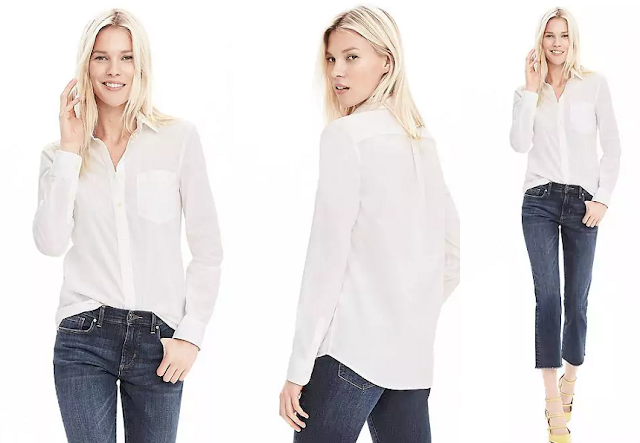 Banana Republic Dillon Fit Basic Shirt $17 (reg $68)